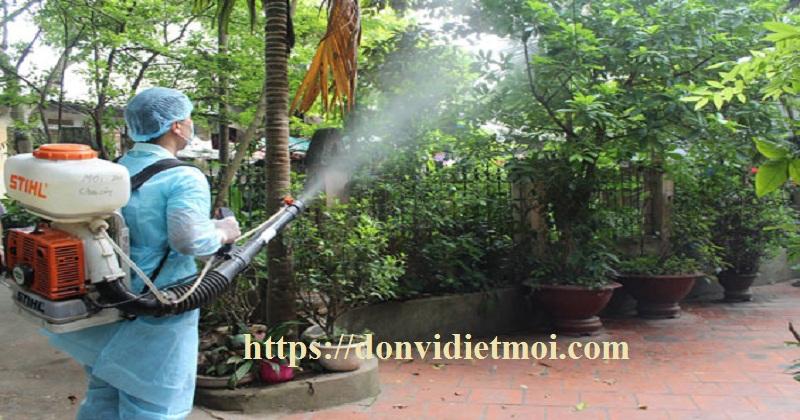 Dịch vụ phun diệt muỗi tận gốc tại Đà Nẵng